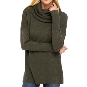 French Connection Oversize Cowl Neck Sweater S